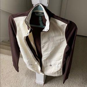 Lauren ACTIVE Ralph Lauren 2-Toned Mockneck Jacket